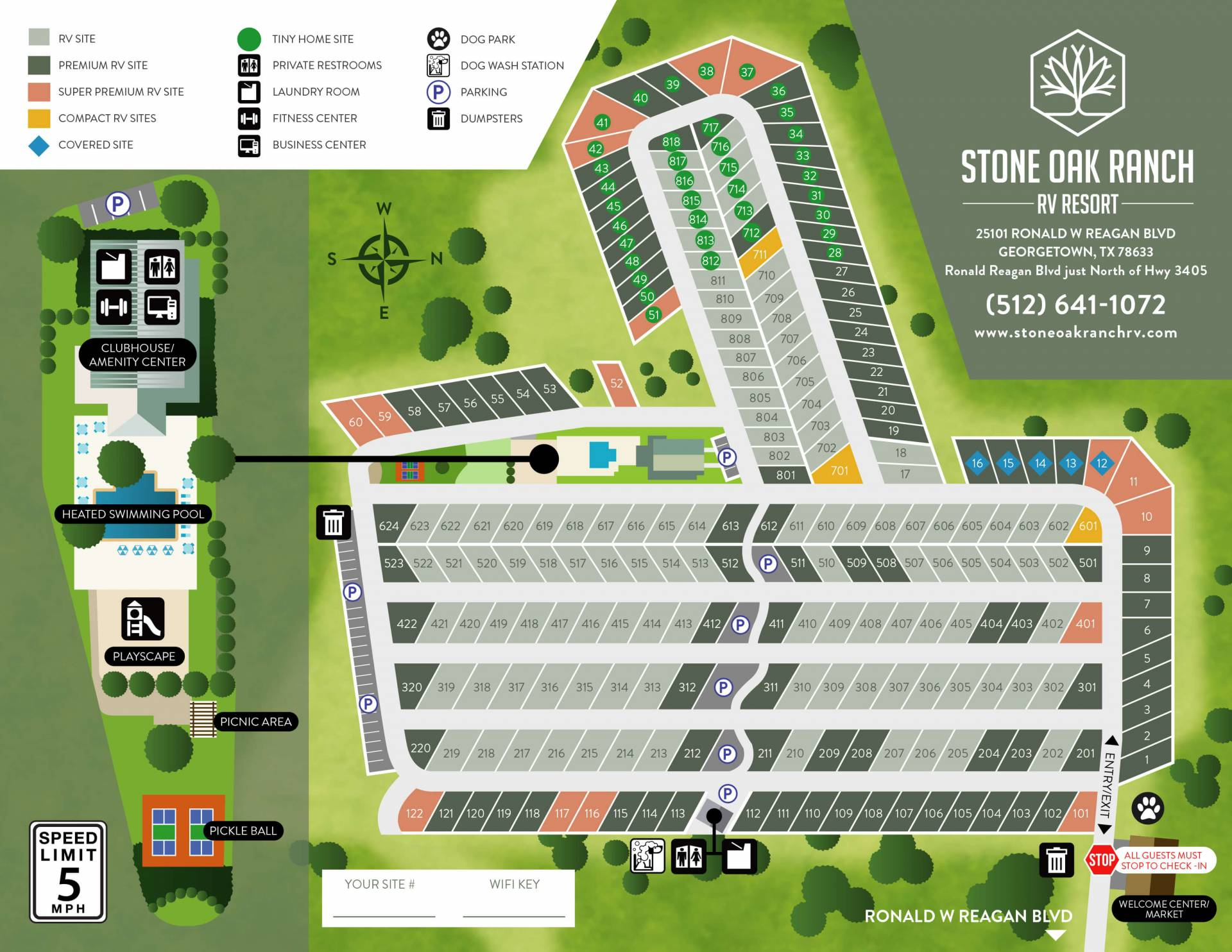Stone Oak Map